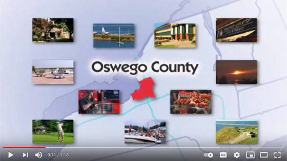 Live, Work and Relax in Oswego County video link