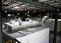 Laser Transit warehouse storage