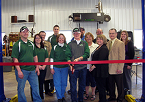 Ribbon cutting at Murphy's Automotive Solutions